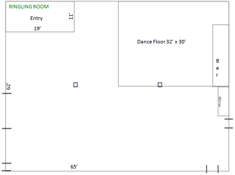 Ringling Room Layout